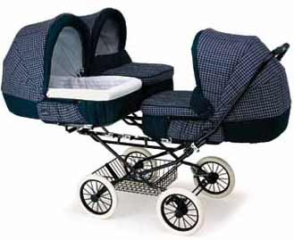 INGLESINA Model Trio Коляска для тройни, вариант для новорожденных
