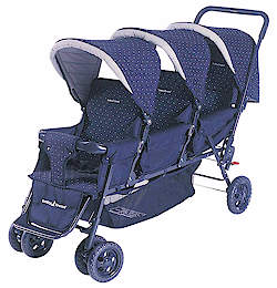 Baby Jogger Triplet Stroller Model #7646 Прогулочная коляска для тройни
