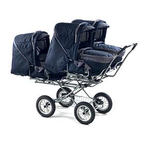 коляска для тройни трио-лифт
