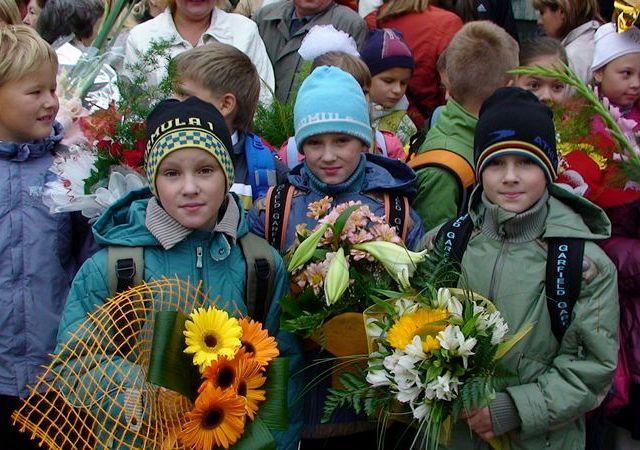 Тройняшки-третьеклашки Лев, Филипп и Кирилл